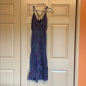 Small, glitter jump suit